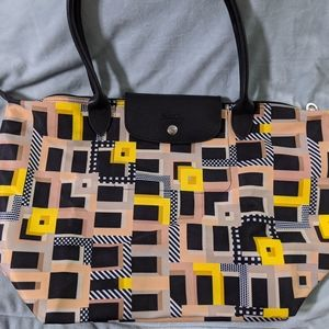Longchamp Le Pilage abstract tote
